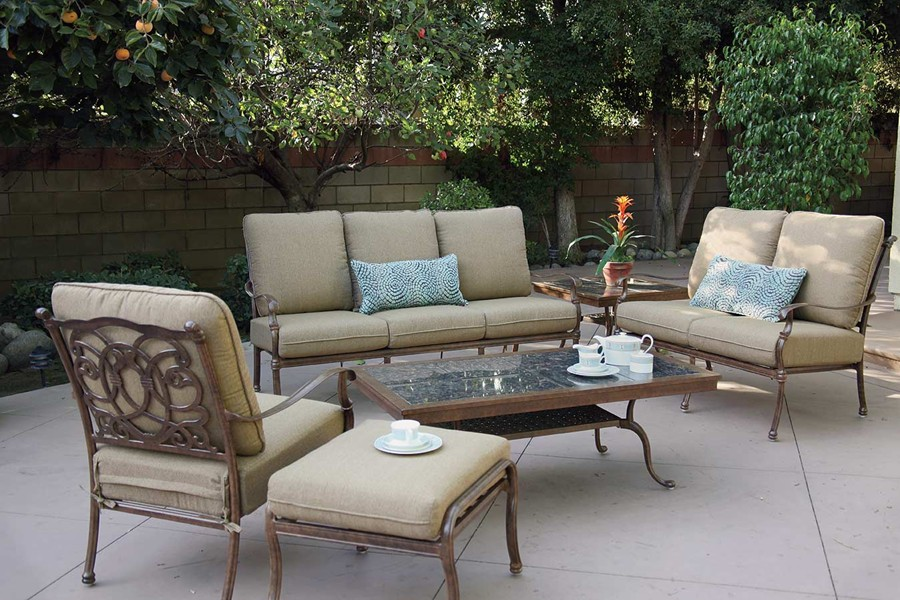 patio furniture deep seating patio furniture deep seating set cast