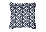 Throw Pillow in Sunbrella Luxe Indigo 45690