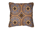 Throw Pillow in Sunbrella Zara Moroccan 47072-0004