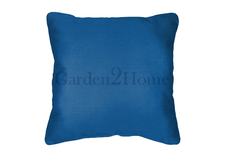Pacific Blue Throw Pillows : Throw Pillow in Sunbrella Canvas Pacific Blue 5401