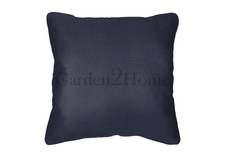 Throw Pillow In Sunbrella Canvas Navy 5439