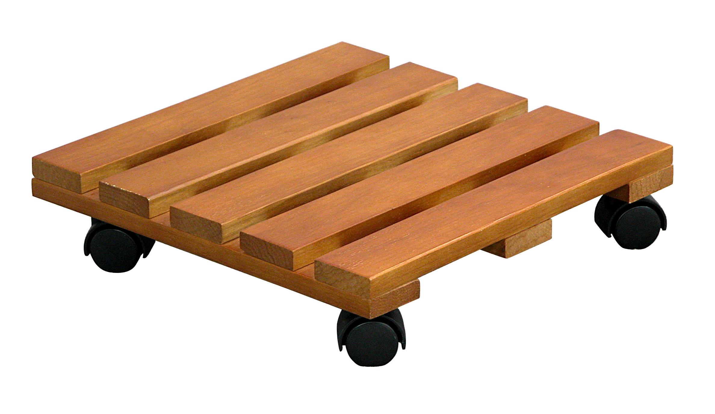 Plant Caddy Wooden 14 Quot X 14 Quot